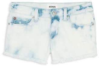 Hudson Girls' Free Love Bleached Shorts - Big Kid
