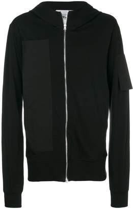 Lost & Found Rooms pocket zipped sweatshirt