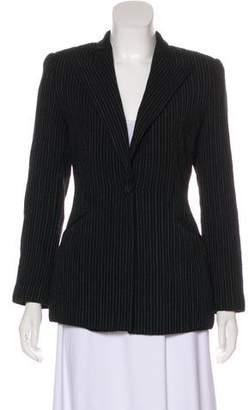 Giorgio Armani Wool Button-Up Blazer