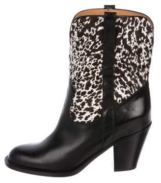 Michael Kors Leather Ankle Boots Black Leather Ankle Boots