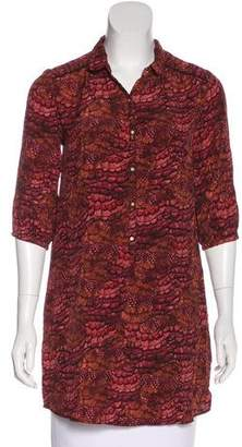 Maison Scotch Printed Tunic Dress