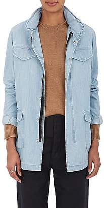 VIS A VIS Women's Cotton Chambray Field Jacket