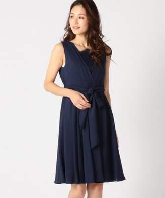 aa158ff861d0e Mew s (ミューズ) - MEW S REFINED CLOTHES ノースリーブVタックドレス