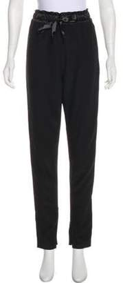 Alexis Mabille High-Rise Pants Black High-Rise Pants
