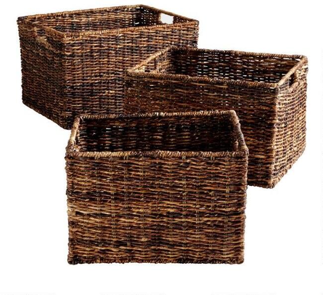 Madras Rectangular Baskets