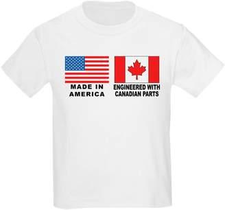 Ash CafePress - Kids Grey T-Shirt - Youth Kids Cotton T-shirt