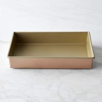 Williams-Sonoma Williams Sonoma Copper Goldtouch® Nonstick Rectangular Pan