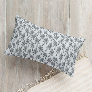 Scandinavian trees Self-Launch Lumbar Pillows