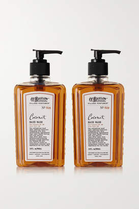 C.O. Bigelow Set Of Two Coconut Hand Washes, 295ml - Colorless