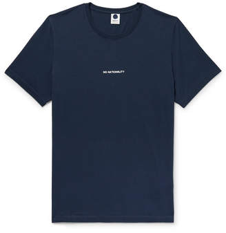 NN07 Ethan Logo-Print Cotton-Jersey T-Shirt