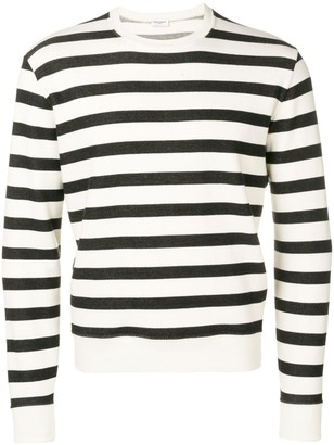 Saint Laurent striped sweatshirt
