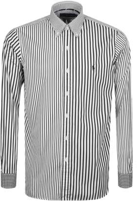 Ralph Lauren Stripe And Gingham Shirt Black