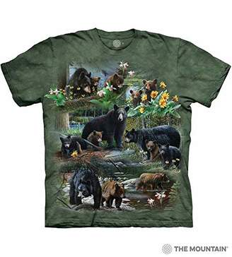 The Mountain Men's Bear Collage T-Shirt