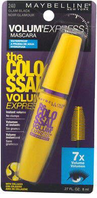 Maybelline The Colossal Volum' Express Waterproof Mascara - # 240 Glam Black
