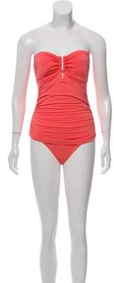 Melissa Odabash Strapless One-Piece Swimsuit w/ Tags