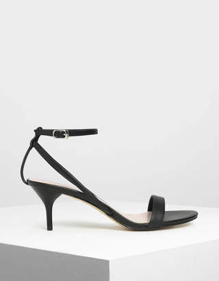 Charles & Keith Classic Ankle Strap Sandals