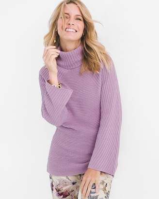 Chico's Chicos Mock-Neck Pullover