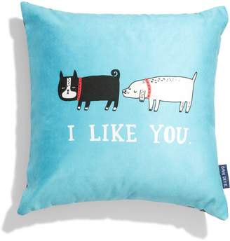 OHH DEER I Like You Accent Pillow