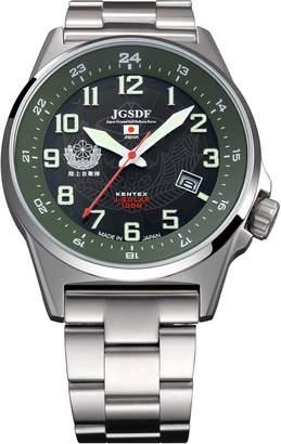 Kentex JSDF model Men's Military Solar Watch S715M-04