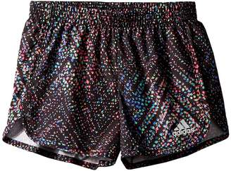 adidas Kids Breakaway Printed Woven Shorts Girl's Shorts