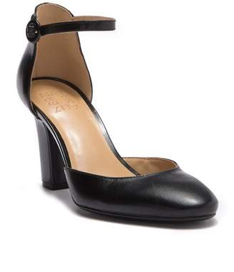 Naturalizer Gianna Leather d'Orsay Ankle Strap Pump - Wide Width Available