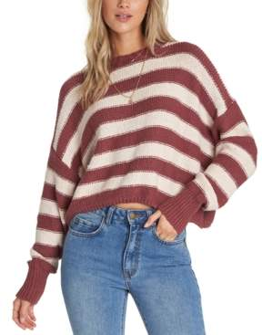 Billabong Juniors' Till Sunset Cotton Cropped Sweater