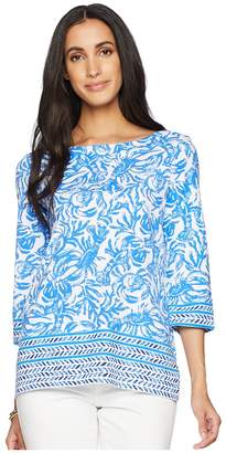 Lilly Pulitzer Waverly Top Women's Clothing