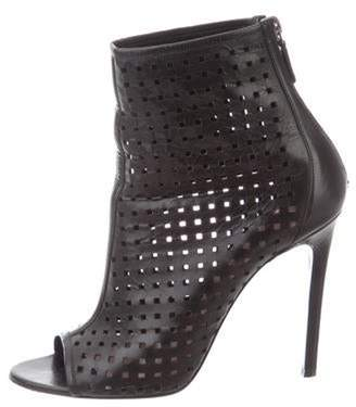 Barbara Bui Leather Ankle Boots Black Leather Ankle Boots