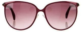 Jimmy Choo Tinted Oversize Sunglasses