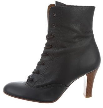 Marc by Marc Jacobs Leather Ankle Boots