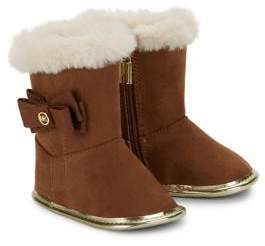 Michael Kors Baby Girl's Faux Fur Trimmed Boots