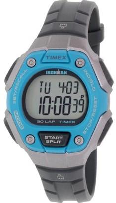 Timex Women's Ironman TW5K89300 Grey Rubber Quartz Sport Watch