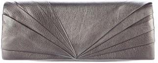 Christian Louboutin Christian Louboutin Metallic Pleated Clutch