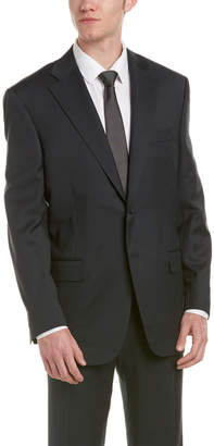 Canali Wool Suit With Flat Pant