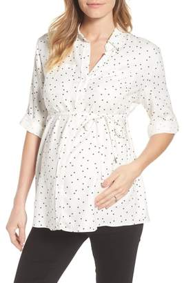 Isabella Oliver Selina Maternity Shirt