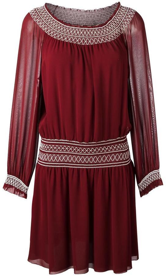 Tory BurchTory Burch smock detail dress