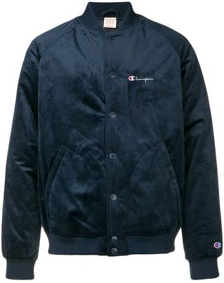 Champion embroidered logo bomber jacket