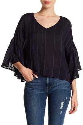 Susina Flutter Sleeve Blouse (Regular & Petite)