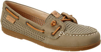 Sperry Women's Coil Ivy Leather Boat Shoe
