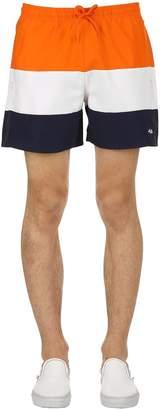 Color Block Logo Swim Shorts