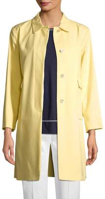 Piazza Sempione Women's Mid-Length Button-Front Coat