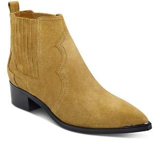 Marc Fisher Yohani Suede Western Booties