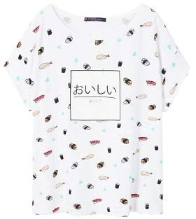 Violeta BY MANGO Sushi printed T-shirt