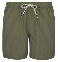 Mens Khaki Regular Pull On Swim Shorts