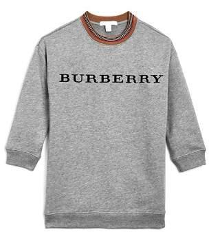 Burberry Girls' Glenda Logo Dress - Little Kid, Big Kid