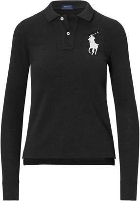Ralph Lauren Skinny Fit Big Pony Polo