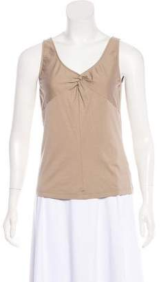 Akris Punto Knot-Accented Camisole Top