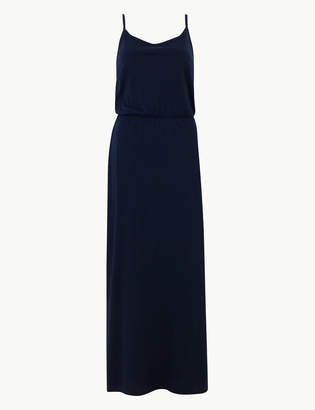 M&S CollectionMarks and Spencer Pure Cotton Waisted Maxi Dress