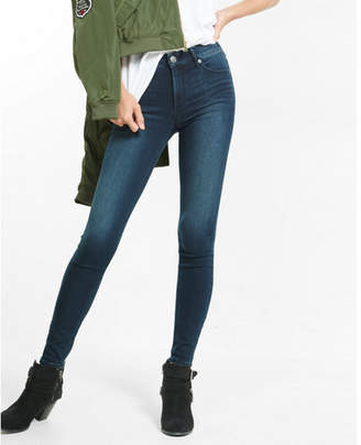 Express supersoft high waisted jean legging $79.90 thestylecure.com