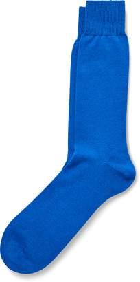 Ralph Lauren Flat-Knit Cashmere-Blend Socks